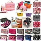 Travel Cosmetic Makeup Toiletry Purse Holder Beauty Wash Bag Organizer Pouch Box