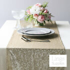 Rose Quartz/Champagne  Matte Sequin Table Runner 35x275cm Wedding Event Decor