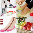 1Pair Bamboo Fiber Candy Color Womens Liner Socks Ankle No Show Peds Boat Sock