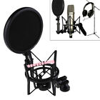 Audio Profession Condenser Microphone Mic Studio Sound Recording W Shock Mount#A