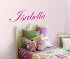 PERSONALIZED GIRL NAME VINYL WALL DECAL STICKER FOR KIDS ROOM WALL ART