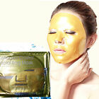 Gold Collagen Crystal Face Masks Anti Ageing Skin Care Facial Mask 1/5/10Pcs