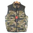 NWT Men Hawke & Co. Outfitter Pro Series Men Packable Down Camo Puffer Vest  $65