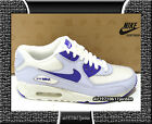Nike Wmns Air Max 90 White Palest Purple Pure Silver Light Blue US 7 9.5