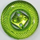 7 COLOUR Large 25mm Round Mirror Back Reflective Fancy Faceted Button BUY 2 4 8