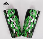 Adidas Shin Guards F50 Graphic Knee Shinpad Green Sports Football Soccer M38658