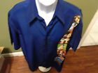 M.E. Sport Hawaiian Club Shirt PIN UP GIRLS HOLLYWOOD SIZE ADULT LARGE