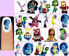 60x INSIDE OUT Nail Art Decals + Free Gems Disney Joy Sadness Anger Fear Disgust