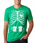 Funny Beer Skeleton St Patricks Day Party T-shirt  Beer Inside St Pattys Tee