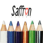 Saffron Metallic Eye Liner Eyeliner Pencil Shimmer, Waterproof - 6 Shades