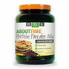 SDC ABOUT TIME PROTEIN PANCAKE MIX 10 SERVINGS GLUTEN FREE - CHOOSE YOUR FLAVOR