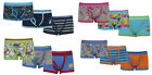 Boys Boxers Trunk Fit Underwear Three Pack Four Styles 2-3 3-4 4-5 5-6 Years