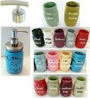 Mason Jar Soap or Lotion Pump Dispenser ~ Painted Distressed Decor - New Colors