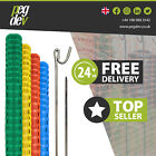 PLASTIC BARRIER FENCE WITH 10MM METAL FENCING PIN PACKS Heavy Duty Safety Event