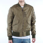 Mens Schott Fairfield Khaki Bomber Jacket