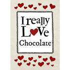 Personalised - I Really Love Chocolate - Notebook