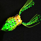 Cute Vintage Soft Frog and Fishing Lure Hook Bass Bait Tackle Hot Sale