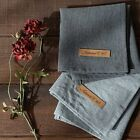 Linen Cotton Table Mat - Mono Color PlacematsTable runner Kitchen Mats Dining
