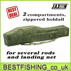 Jaxon X-Team 2 compartments holdall to transport your rods safely rod case,  tube