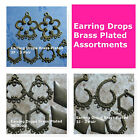 Earring Drops Brass Plated Mixed Lots Jewelry Supply
