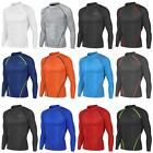 New Mens Compression WINTER Long Sleeves Base Layers Top Skins Fitness Take 5