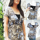 Maternity Clothing Nursing Tops Breastfeeding Shirt Charlie SS New Pregnancy Top