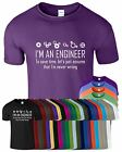 I AM AN ENGINEER Mens Tshirt I AM NEVER WRONG Funny Mechanic Computer