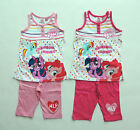 MY LITTLE PONY PYJAMA SHORTY 2 PART TROUSERS + SHIRT SIZE 98 - 128