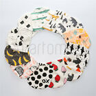 Baby Girls Boys Cute Animals Scandinavian Style 100% Cotton Hat or Tube Scarf