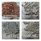 Corrugated  Spacer Beads Copper Plated Silver Plated 2.4mm 3mm 4mm