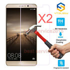 2Pcs 9H+ Premium Tempered Glass Cover Screen Protector For Huawei Cell Phone