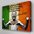 S563 Conor McGregor Cocky Confident Humble UFC Canvas Art Framed Poster Prints