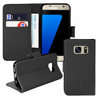Samsung Galaxy S7 Edge Wallet Book Leather Case Cover with Stylus & Screen Film