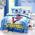 Spider-man 100% Cotton Doona Covers Single Queen Bed Size Quilt Duvet Cover Set