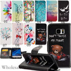 Flip Cover Stand Slot Wallet Leather Case Pouch For Samsung Galaxy S7/S7 Edge