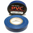 Blue Electrical PVC Insulation Tape - Insulating 19mm x 20m Flame Retardant Cold