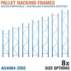Pallet Racking Frames NEW Dexion Compatible Warehouse Shelving Uprights