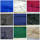 Discount Fabric Polyester Lycra/Spandex 4 way Super Stretch Choose Your Color