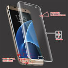 Unbowdlerized Curved Cover LCD Screen Protector Film Clear for Samsung Galaxy S7 /S7 Edge
