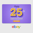 eBay Digital Gift Card -  Birthday Designs - Email Delivery <br/> US Only. Delivered in minutes (Exceptions apply)