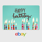 eBay Digital Gift Card -  Birthday Designs - Email Delivery