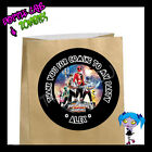 Power Rangers Mega Force Birthday Party Favor Goody Bag STICKERS - Personalized