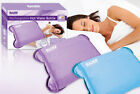 Rechargeable Electric Hot Water Bottle Heat Pad Warmer Soft Touch Cover