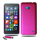 For Microsoft Lumia 550 Stylish Hard Shell Case Back Cover + Screen + Stylus
