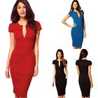 Sexy Slim Womens Bodycon Cocktail Pencil Party Evening Clubwear Bandage Dress