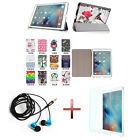 XC Fashion Leather Case Cover +Protector +Headphone For 9.7* iPad Pro Tablet