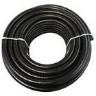 "3/4"" x 50' Black Flexible PVC Pipe, Hose, Pond Tubing for Koi & Water Gardens"