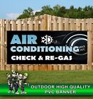 AIR CONDITIONING RE-GAS GARAGE SERVICE PVC BANNER PROMOTIONAL VARIOUS SIZES