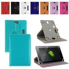 360°Rotating Leather Stand Case Cover For Universal Android Tablet 7 8 9 10.1