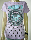 RAMONES Logo Official Womens T-Shirt Top Punk Rock